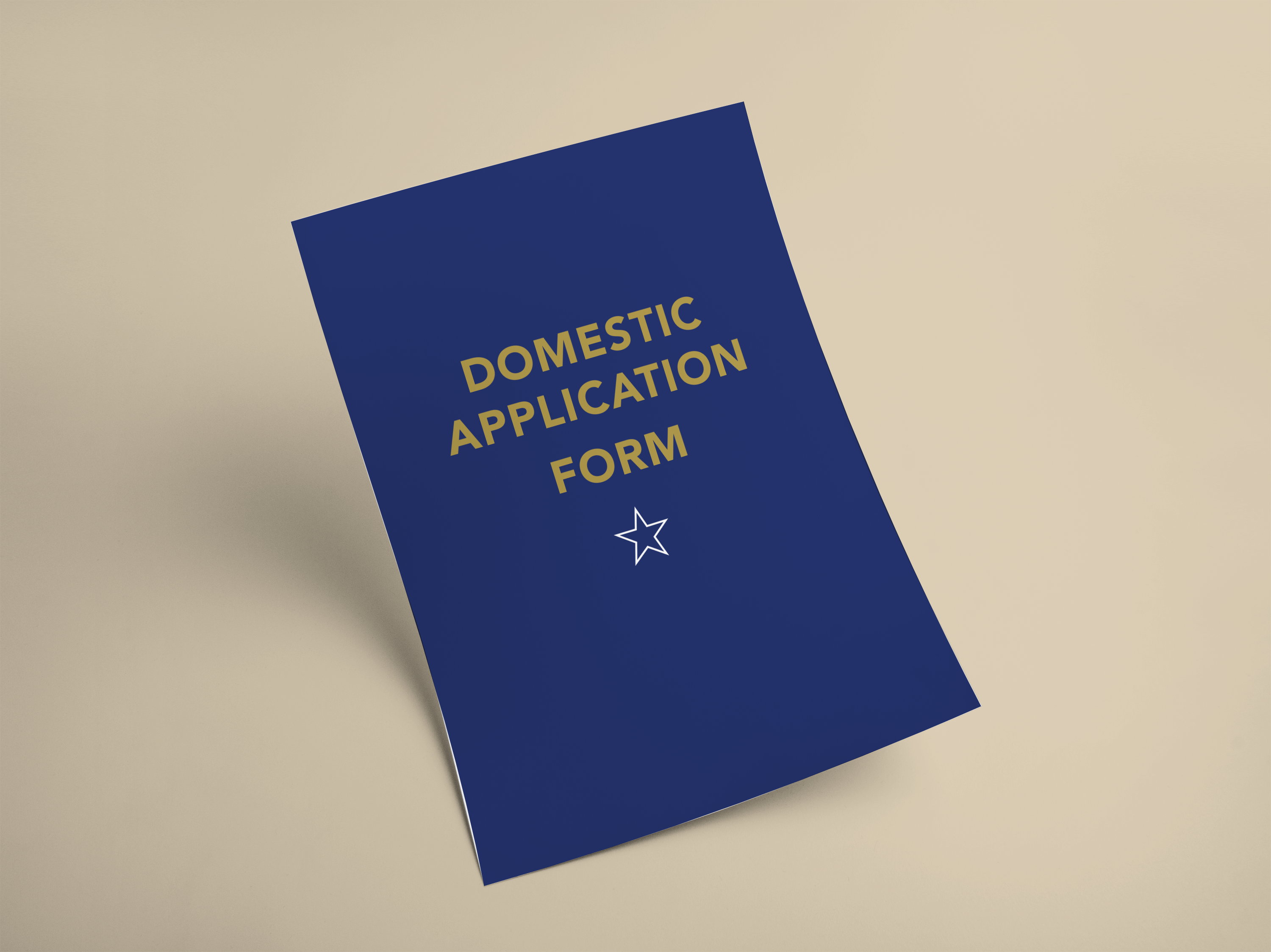AFFCO Sales Domestic Application Form